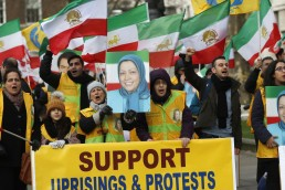 Moderate Rebels Iran protests MEK