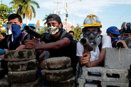 Nicaragua tranque cannons US regime change coup