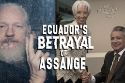 ecuador's betrayal of assange