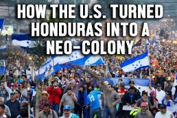 Moderate Rebels US neo colonialism Honduras