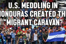 Moderate Rebels Honduras migrant caravan