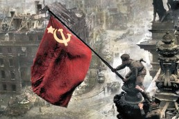 soviet battle of berlin flag color
