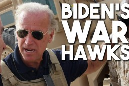 Biden war hawks transition foreign policy