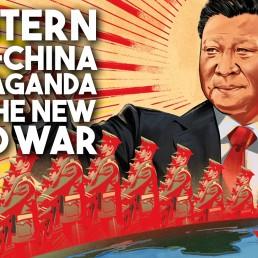 China propaganda new cold war