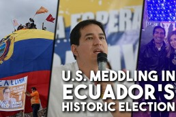 Ecuador US meddling election