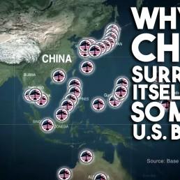 US military bases China