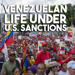 Venezuela life sanctions