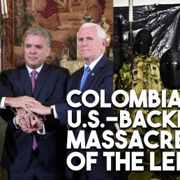 colombia massacres left