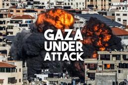 gaza under attack moderate rebels