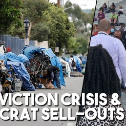 US eviction crisis Democrat sellouts